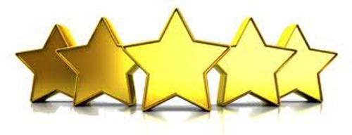Five Stars Awarded!