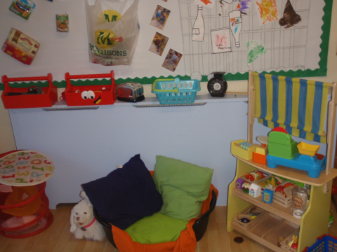 Nap time is very important at our Day Nursery in Liverpool