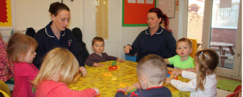 Encouraging our Liverpool Day Nursery Kids