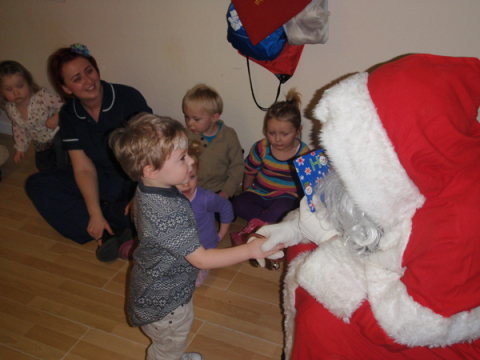 Santa is due to visit our Day Nursery in Liverpool